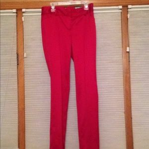 Express Pants - Brand-new Express Red Skinny Leg Pants